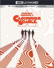 A Clockwork Orange 4K Ultra Hd/Blu-Ray with Slipcover Stanley Kubrick