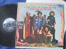 Country Joe And The Fish – I-Feel-Like-I'm-Fixin'-To-Die Fontana STFL LP Album