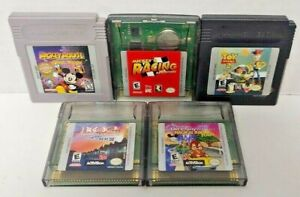 Disney Toy Story Mickey Mouse Wands Racing 102 Dalmation Games Nintendo Game Boy