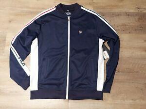 FILA BLUE Track Jacket Zip Up New Size M Men's