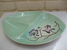 Carlton Ware AUSTRALIAN Design che servono Dish 3 sezioni vintage