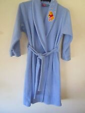 Girls Size 7 Winnie the Pooh polar fleece dressing gown from Target
