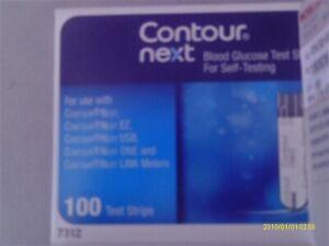 Contour Next 100 Test Strips+100 Lancets