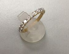 Estate14k yellow gold diamond band .50ct total