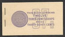 1939 United States/USA, Scott BOOKLET BK102 MNH/**
