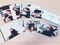 BTS V Taehyung KIMINI TODOKU Fanmeeting Postcard 7 SET official goods