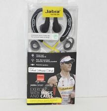 "New! Jabra ""Craig Alexander"" Corded Stereo Sports Headset for Apple {4143}"