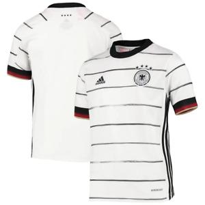 adidas Germany Football Shirt Kid's Home Shirt - White - New