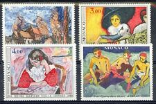 Monaco Scott 1242-5 Mint NH (Catalog Value $17.25)