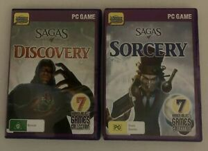 14x Hidden Object Games DVD-ROM: Sagas Of Sorcery & Sagas Of Discovery PC