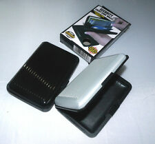 ALUMINIUM ALUMA SECURITY CREDIT CARD HOLDER WALLET MANY COLOR STYLISH PROTECTION