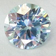 0.86 CTS 5MM VVS1 VG ROUND FANCY LIGHT BLUE LAB CERTIFIED LOOSE DIAMOND