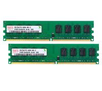 For Hynix 4GB 2X 2GB PC2-6400U DDR2 800Mhz 240pin DIMM Desktop Memory RAM #3H