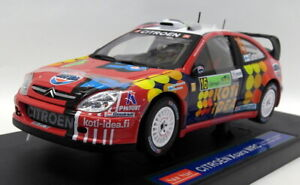 Sunstar 1/18 Scale Diecast - 4422 Citroen Xsara WRC Rally Acropolis 2006
