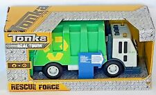 Tonka - Real Tough Rescue Force - Dust Cart / Rubbish Truck - Age 3+ - Brand New