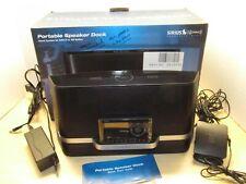Sirius Xm Satellite Radio Sxabb1 Portable Speaker Boombox Dock w/ Onyx Xdnx1
