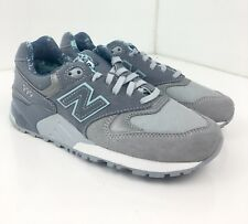 New Balance 999 Women 7.5 Blue & Gray Lace Up Suede Running Shoes WL999TB A111