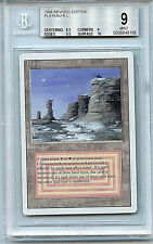MTG Revised Dual Land Plateau BGS 9 Graded Card  Magic The Gathering WOTC 8196