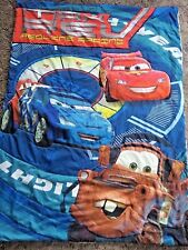 Disney Cars Movie Comforter Toddler Bed Size Reversible Mater Lighting McQueen