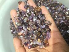 1/2LB AMETHYST RUTILATED TUMBLED bulk STONE Crystal Healing Reiki S