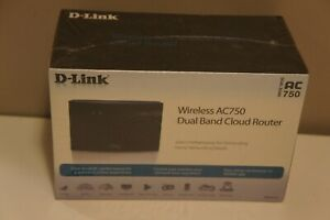 D-Link AC750  Wireless Dual Band Cloud Router | New in Sealed Box