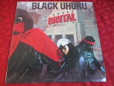 LP le reggae Black uhuru brutalement/1986