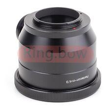 Pentacon 6 Kiev 60 to Micro Four Thirds 4/3 Camera Lens Adapter