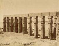 Photo Zangaki Albuminé Egypte Vers 1875/80