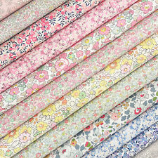 Liberty Spring Classics Tana Lawn Fabric Pack / quilting patchwork floral pink