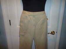 NWT Talbots Petites Stretch Ladies Cargo Pants Size 8P Beige or Khaki