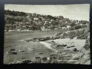 Devon SALCOMBE Sunny Cove c1950s RP Postcard by M&L