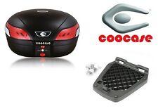 Topcase Coocase Astra Luxury S48 48 Litres Noir (TELECOMMANDE, ALARME, FEU STOP)