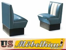 hw-70-b American Diner Bench Seating Furniture 50´s USA Style Catering