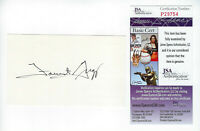 PACKERS Forrest Gregg signed 3x5 index card AUTO JSA COA AUTO Green Bay HOFer
