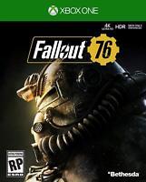 2018 Fallout 76 4K HDR Xbox One X Enhenced Card [Digital] Physical Card no Disc