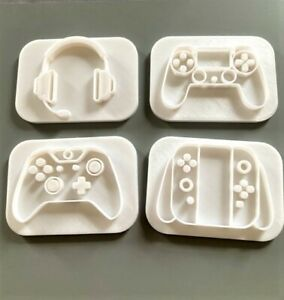 Gaming Controller Embossing Stamps / Fondant / Icing