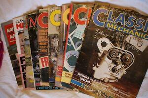 Classic Mechanics Issues 1,2,4,5 & 9 + 4 other classic magazines.