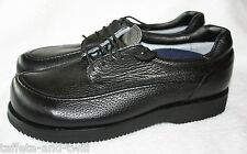 PW Minor Orthotic Orthopedic Shoe Oxford Men 10.5 B Narrow Vibram Diabetic