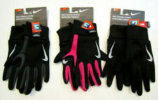 NIKE Thermal Running Warm Gloves Black Gray Unisex M L XL Freedom to Scroll