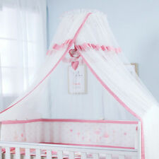 Kids Baby Cot Bed Mosquito Net Curtain Canopy Dome Mesh Nursery Summer AU006