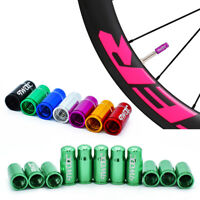 2Pcs/6Pcs  Bike Bicycle Fixie MTB Wheel Rim Tyre Stem Air Valve Caps Dust Cover