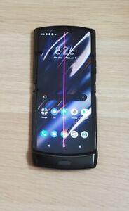 "Motorola Moto Noir Razr Black 6.2"" 4G  - EE E-SIM ONLY [LINE ON SCREEN](VATINC)"