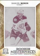 SAMUEL MORIN 2017-18 UD The Cup Rookie Masterpieces Printing Plate ERROR #1/1