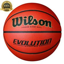 Luxury Wilson Evolution Indoor Game Basketball Official Superior Grip Leather