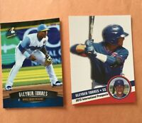 Gleyber Torres 2016 Myrtle Beach Pelicans RC & 2013 Hot Shots Int. Prospects RC