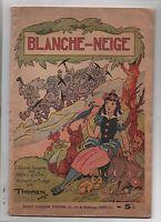 BLANCHE NEIGE par Thomen. SPE  1939