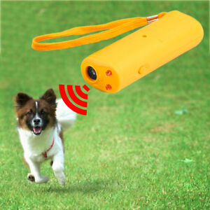 Frienda LED Ultrasonic Dog Repeller and Trainer Device 3 in 1 Anti Barking Stop