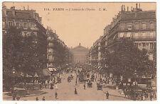 CARTE POSTALE PARIS L AVENUE DE L OPERA