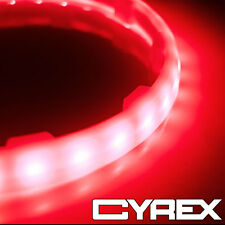 """2PC RED LED SPEAKER COLOR CHANGING LIGHT RINGS FITS 6.5"""" SUBWOOFER SPEAKERS P24"""
