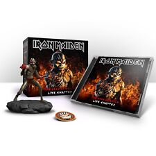 +FIGURINE----> IRON MAIDEN The Book of Souls: The Live Chapter WALMART 2CDs 0213